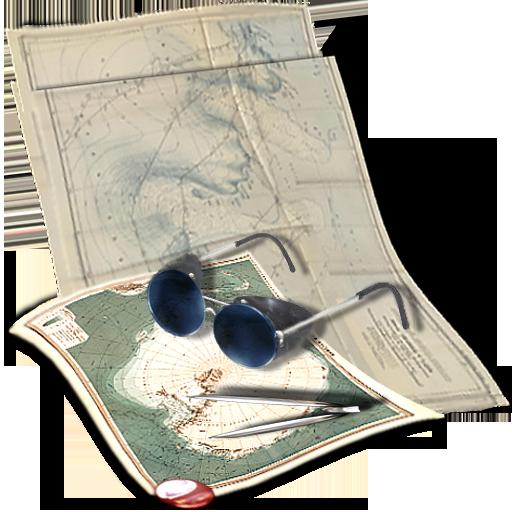 иконка путешествие, карта,