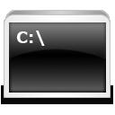 иконка run, cmd,