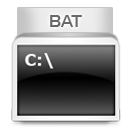 иконки bat,