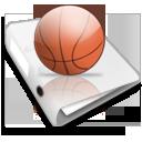 иконки игры, баскетбольный мяч, папка, games,