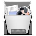 иконки recycle bin full, полная корзина,