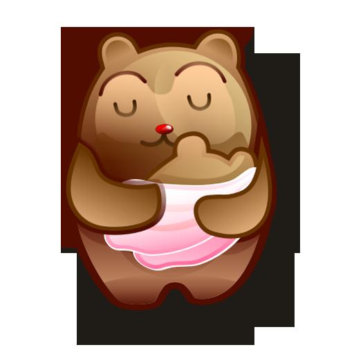 иконки bear, медведь,