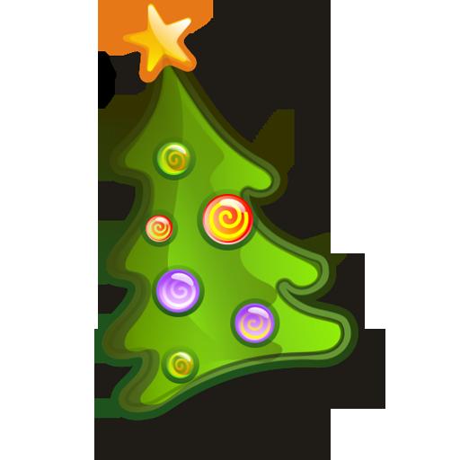 иконки  tree, новогодняя елка, новый год,