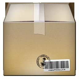 иконки коробка, картонный ящик, box,