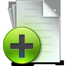 иконки document, add, создать документ,