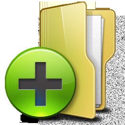 иконки folder, add, создать папку, папка, добавить папку,