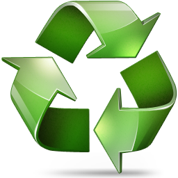 иконки recycle, утилизация,