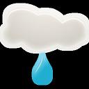 иконки погода, дождь, light rain,