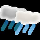 иконка погода, ливень, showers,