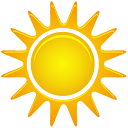 иконки  погода, солнце, солнечно, sunny,