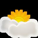 иконки погода, облачно, sunny interval,