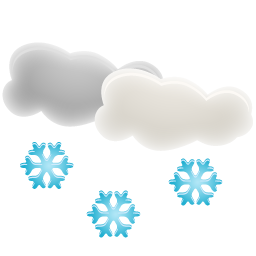 иконки погода, снег, snow,