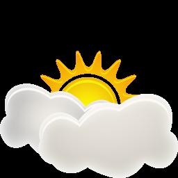 иконка погода, облачно, sunny interval,
