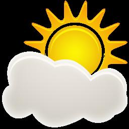 иконка погода, облачно, sunny period,