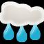 иконки погода, дождь, rain,
