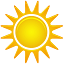 иконка погода, солнце, солнечно, sunny,
