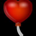 иконки воздушный шар, сердце, ballon,