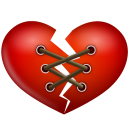 иконка сердце, stitch heart,