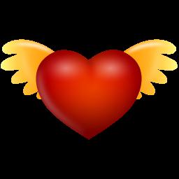 иконки ангел, сердце, angel,