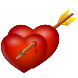 Иконки: сердце, стрела, arrow and hearts, от ...: iconbird.com/view/34565_iconki_serdtse_strela_arrow_and_hearts