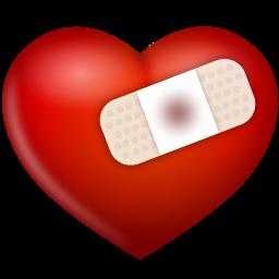 иконка раненое сердце, bind up,