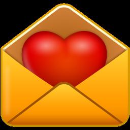 иконки признание, любовь, письмо, почта, email love,