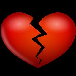 иконки разбитое сердце, heart broken,