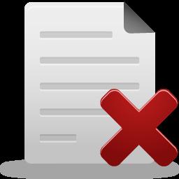 иконки удалить файл, удалить, delete file,