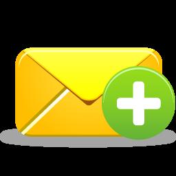 иконки создать письмо, email add,