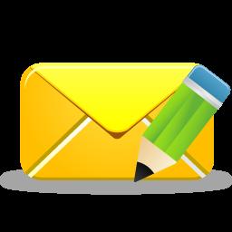 иконки редактировать письмо, почта, email edit,