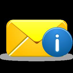 иконки информация, письмо, email info,