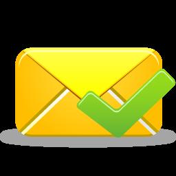 иконки письмо, почта, email validated,