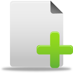 иконки новый файл, new file,