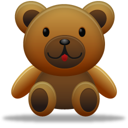 иконки медведь, teddy bear,
