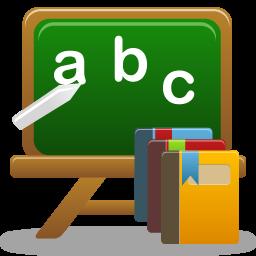 иконки курсы, учеба, школьная доска, courses,