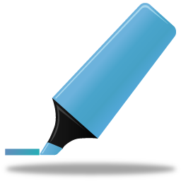 иконки маркер, выделение маркером, highlightmarker,