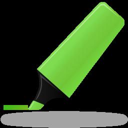 иконка маркер, выделение маркером, highlightmarker,
