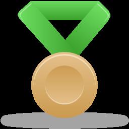 иконки медаль, бронза, metal bronze,
