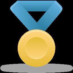 иконки медаль, золото, metal gold,