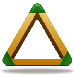 иконки бильярд, sport triangle,