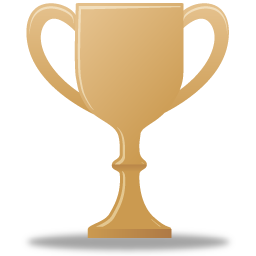 иконки трофей, приз, бронза, кубок, trophy bronze,