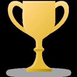 иконки трофей, кубок, приз, золото, trophy gold,