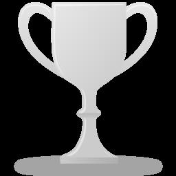иконки трофей, кубок, серебро, trophy silver,