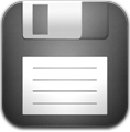 иконки  files, дискета, сохранить,