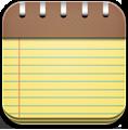 иконка notepad, блокнот, заметки,
