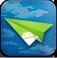 иконки  airdroid, самолетик, андроид,