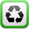 иконки cache cleaner, утилизация,
