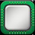 иконки cpu, микросхема,