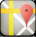 иконка google maps, карты,