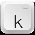иконка keyboard,
